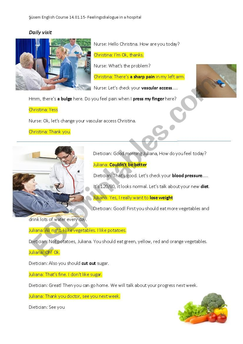Medical Dialogues In Hospital