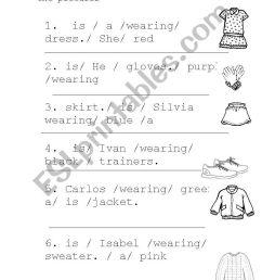What is he wearing? - ESL worksheet by Rosarioysela [ 1389 x 838 Pixel ]