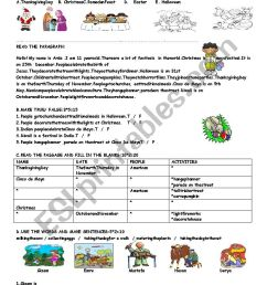 5th grade exam term:2 exam:3 for TURKISH students - ESL worksheet by  fatossworld [ 1169 x 826 Pixel ]