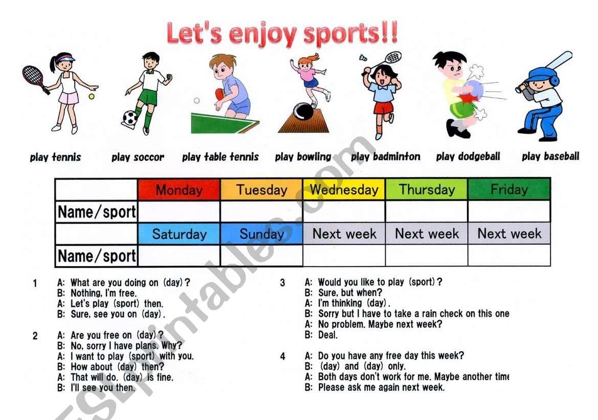 Let S Enjoy Sports