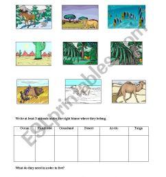 Biomes - ESL worksheet by lorenzojoezel@gmail.com [ 1169 x 826 Pixel ]