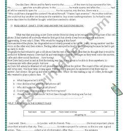 6th grade test - ESL worksheet by lauflei [ 1169 x 826 Pixel ]