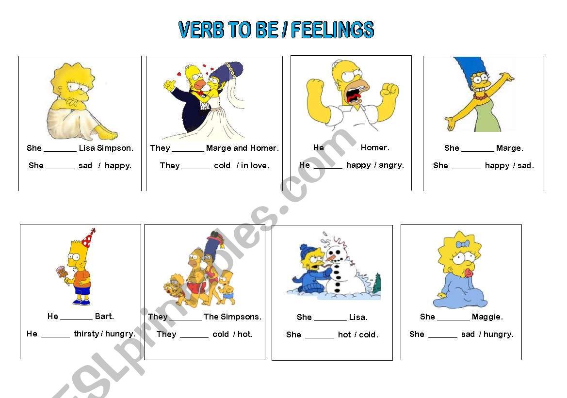 To Be Feelings