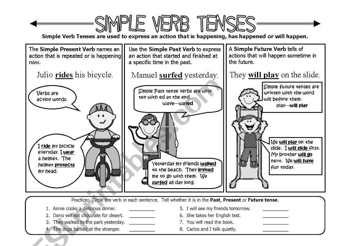 Simple Verb Tenses