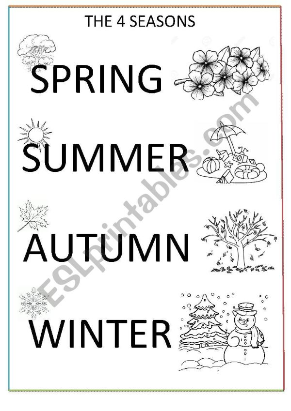 seasons coloring pages # 12