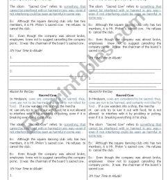 Allusion Figure of Speech Worksheet for Grade 10 / Fourth Year High School  - ESL worksheet by artjo123 [ 1300 x 850 Pixel ]