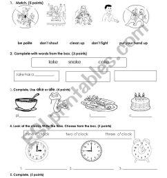 CLASSROOM INSTRUCTIONS - ESL worksheet by pamela25 [ 1169 x 826 Pixel ]