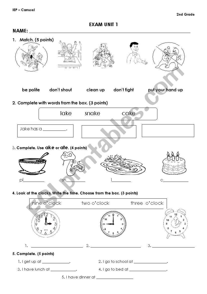 hight resolution of CLASSROOM INSTRUCTIONS - ESL worksheet by pamela25