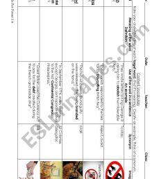 7th grade Social Studies - ESL worksheet by justinaamiller [ 1169 x 826 Pixel ]