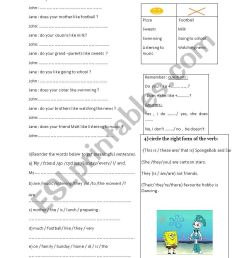 grammar review for 6th grade - ESL worksheet by mariem boukraa [ 1169 x 826 Pixel ]