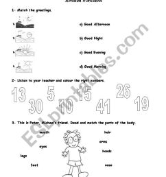 Revision worksheet - 3rd / 4th Grade (4 pages) - ESL worksheet by Kita19 [ 1169 x 821 Pixel ]