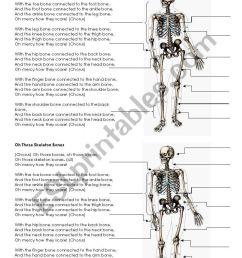 skeleton bones song lyrics and labels [ 821 x 1169 Pixel ]