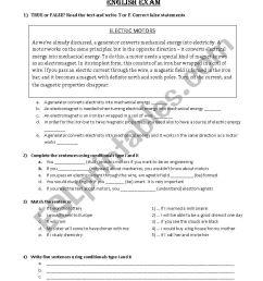 Mechanics Worksheet (1) - ESL worksheet by julieta1103 [ 1169 x 826 Pixel ]