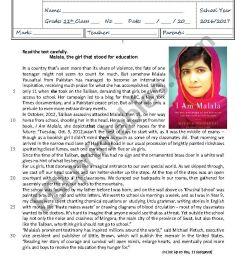 Test Multiculturalism 11th grade - with key - ESL worksheet by digorita [ 1169 x 826 Pixel ]
