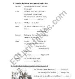 Use of English Exam 4th grade - ESL worksheet by Carlamon [ 1169 x 826 Pixel ]