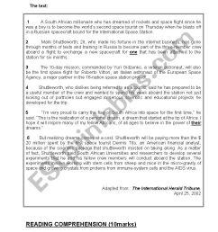 4th grade mid-term test 1 - ESL worksheet by benhammouda [ 1169 x 826 Pixel ]