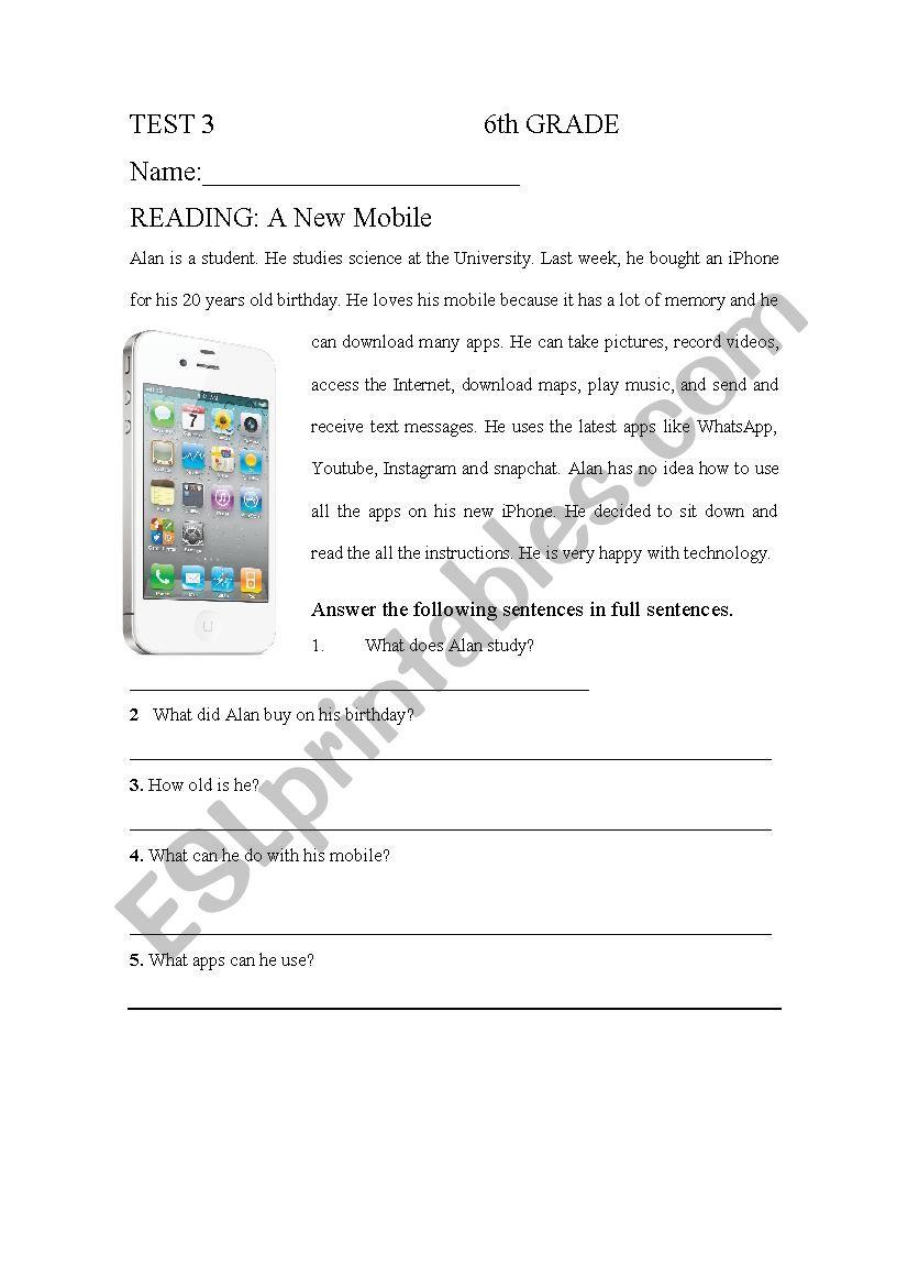 medium resolution of Technology - ESL worksheet by andrerepe