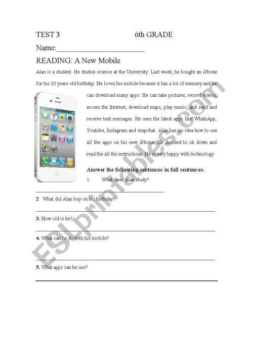 small resolution of Technology - ESL worksheet by andrerepe