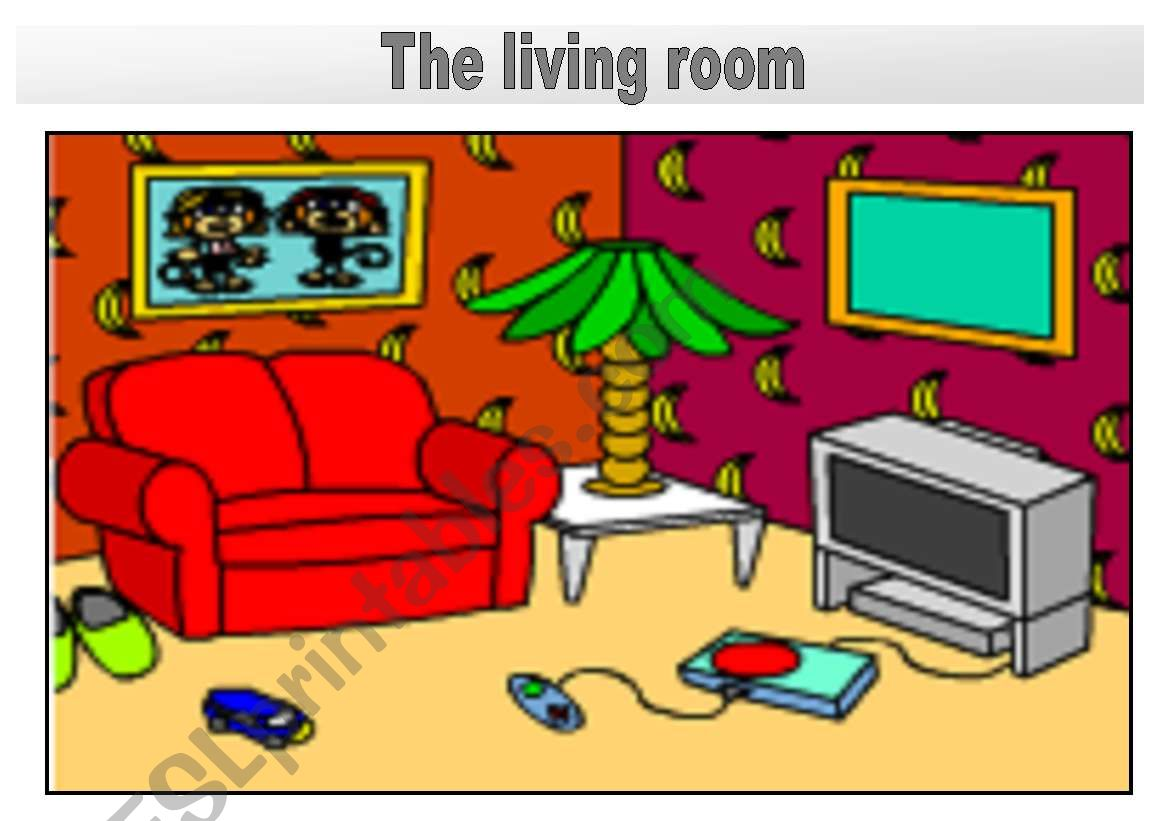 Rooms In The House Flashcards The Living Room