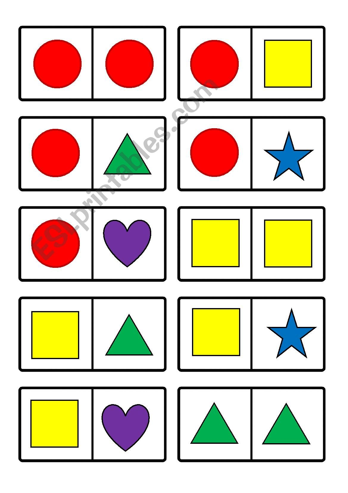 Shapes Domino
