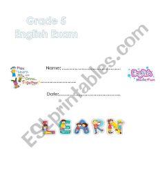 way ahead 5 -exam - ESL worksheet by marahyounis [ 1169 x 826 Pixel ]