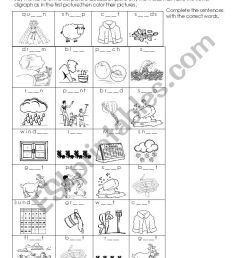 Vowel digraphs listening exercise - ee-ea /ai-ay/oa-ow - ESL worksheet by  Laurita02 [ 1169 x 826 Pixel ]