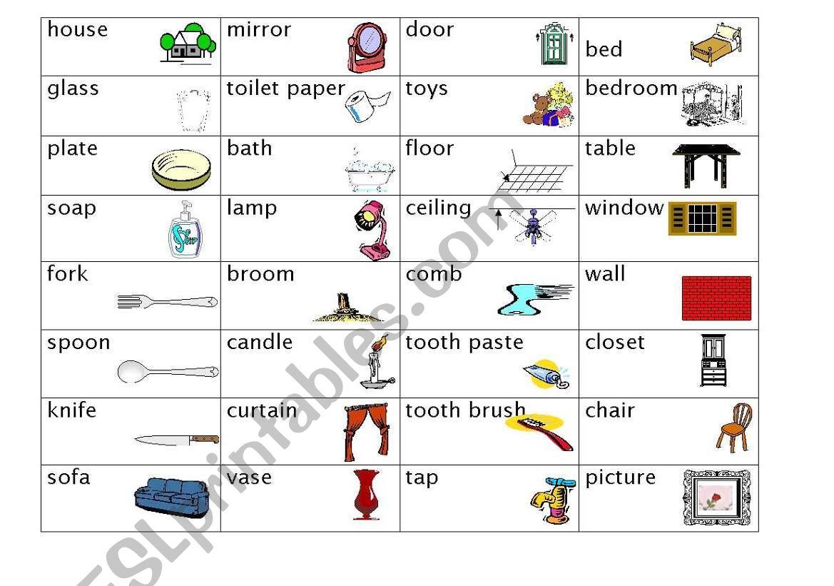 Home Dictionary