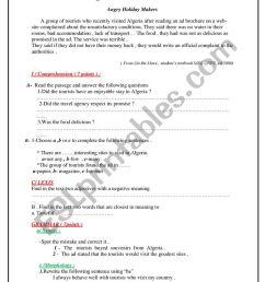 diagnostic test 1st grade - ESL worksheet by asmajoulaine [ 1161 x 821 Pixel ]
