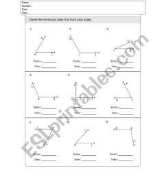 Angles Grade 4 - ESL worksheet by Iron Xalao [ 1062 x 821 Pixel ]