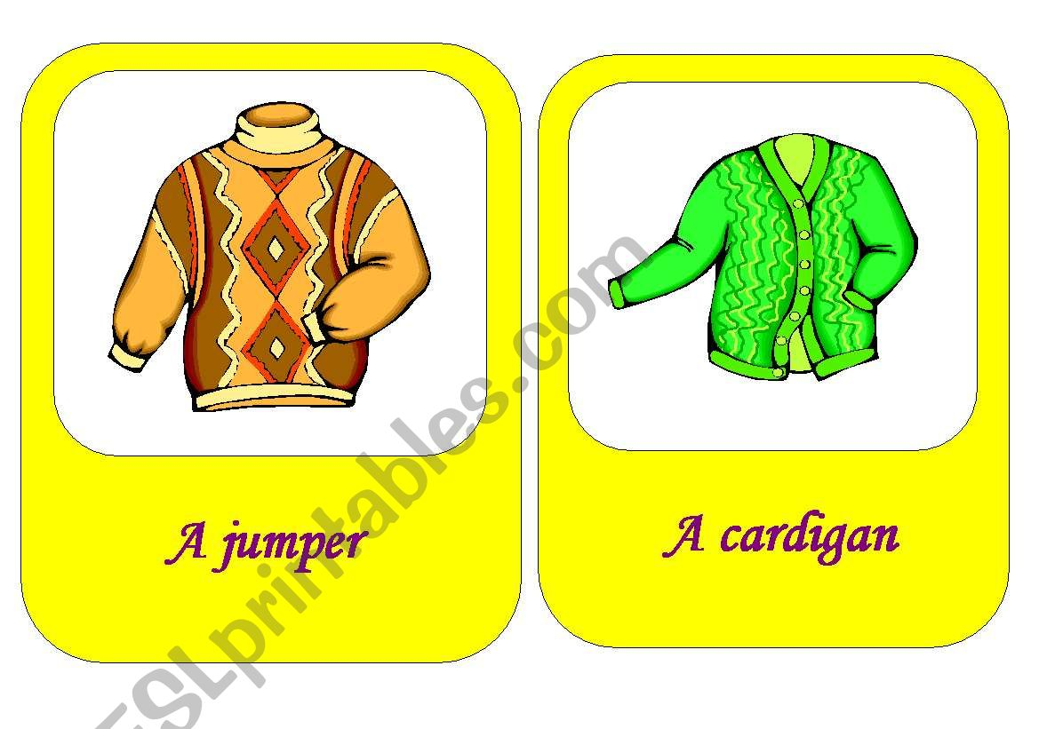 Clothes Flash Cards 2 18