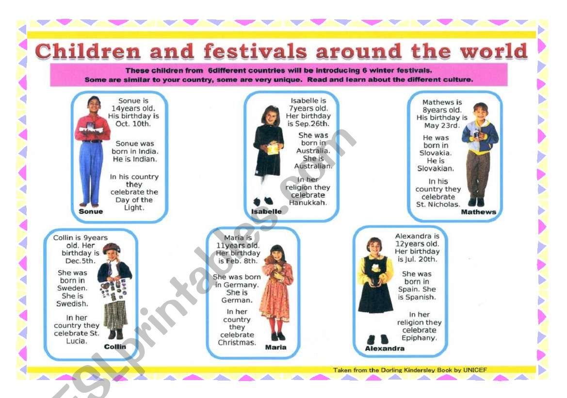 Children Around The World 3