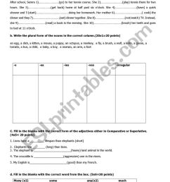 revision test for 9th grade- 2 - ESL worksheet by ggonca [ 1161 x 821 Pixel ]