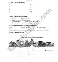 Greek Primary School English 4th Grade test 1 - ESL worksheet by vrontzos [ 1162 x 821 Pixel ]