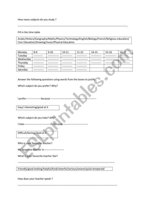 small resolution of Review 8th grade part 2 - ESL worksheet by smartboutheina