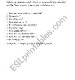 answer question - ESL worksheet by bettyweifan [ 1062 x 821 Pixel ]