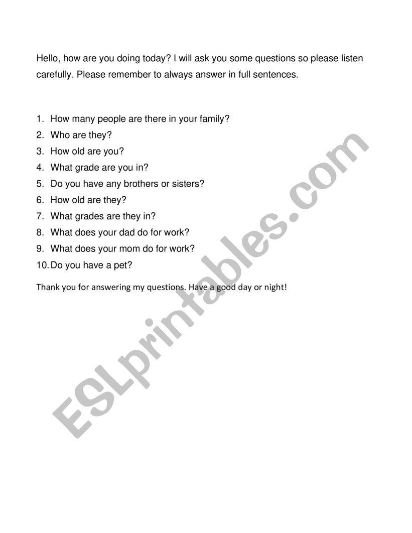 medium resolution of answer question - ESL worksheet by bettyweifan