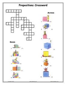 Prepositions Worksheets For Esl