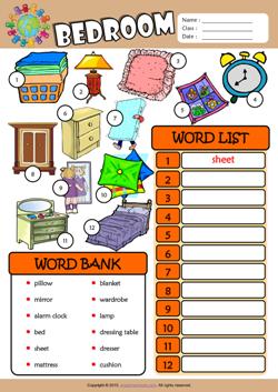 Bedroom Furniture Vocabulary bedroom furniture names in english | memsaheb