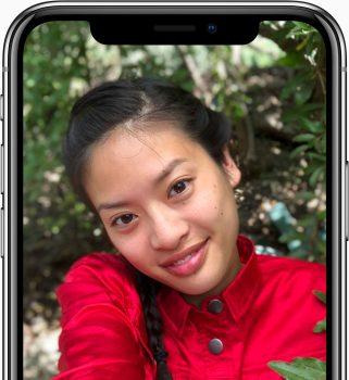 iPhone X True Depht Front 2