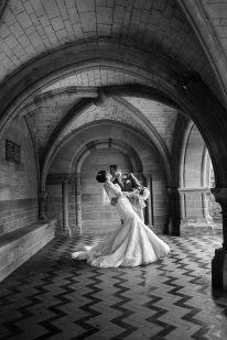 romantic wedding coombe abbey