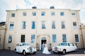 bride groom somerford hall portrait cars quirky relaxed