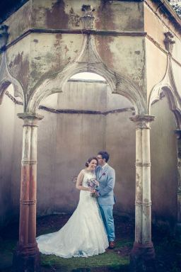 bride groom relaxed beautiful portrait romantic somerford hall archways