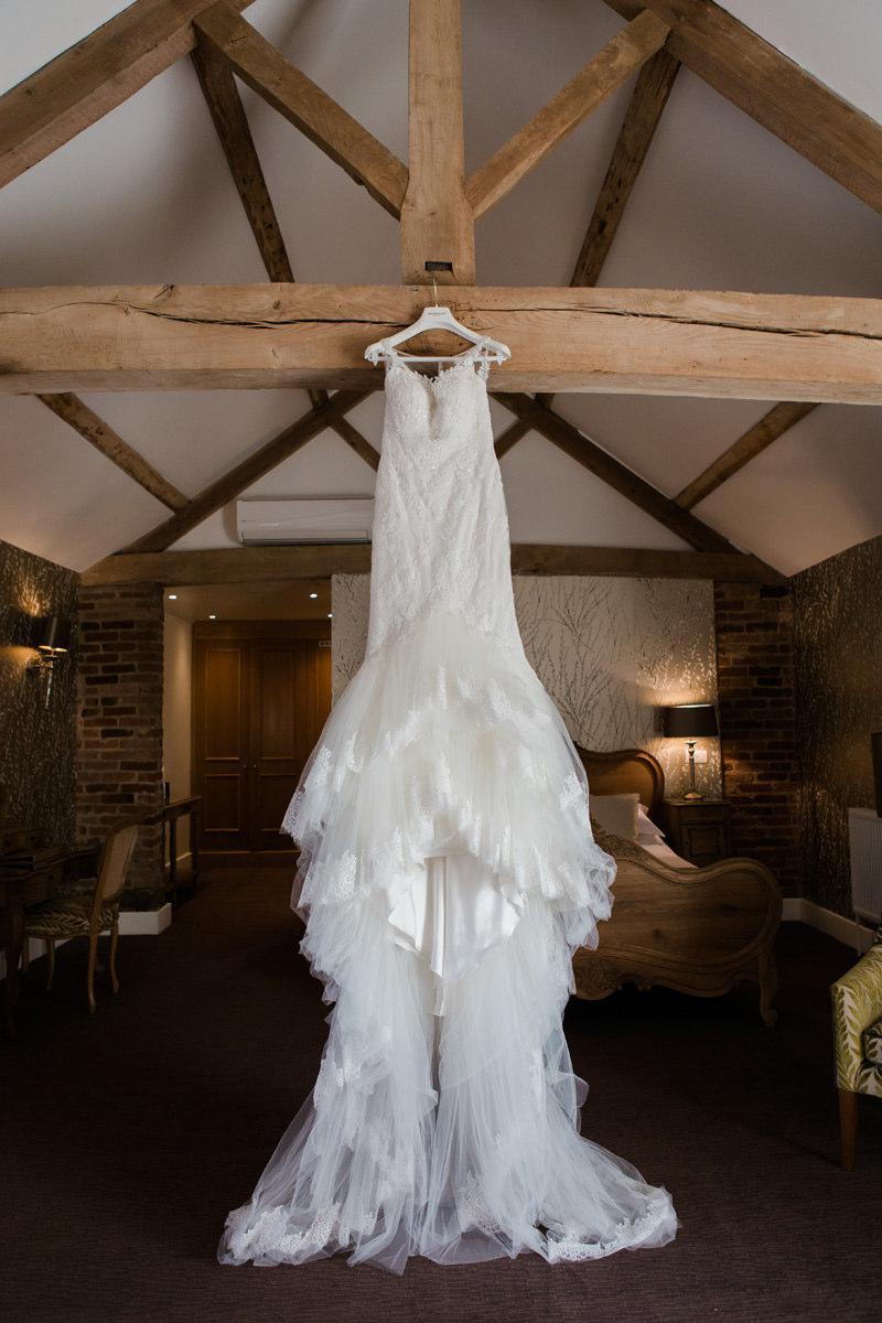 Rachel Ash Wedding Dress at Mythe Barn
