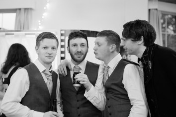 Fun Country Wedding Claverdon Village Hall -120