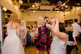Fun Country Wedding Claverdon Village Hall -124
