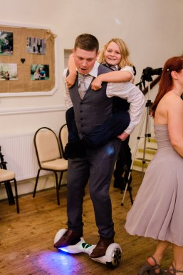 Fun Country Wedding Claverdon Village Hall -125