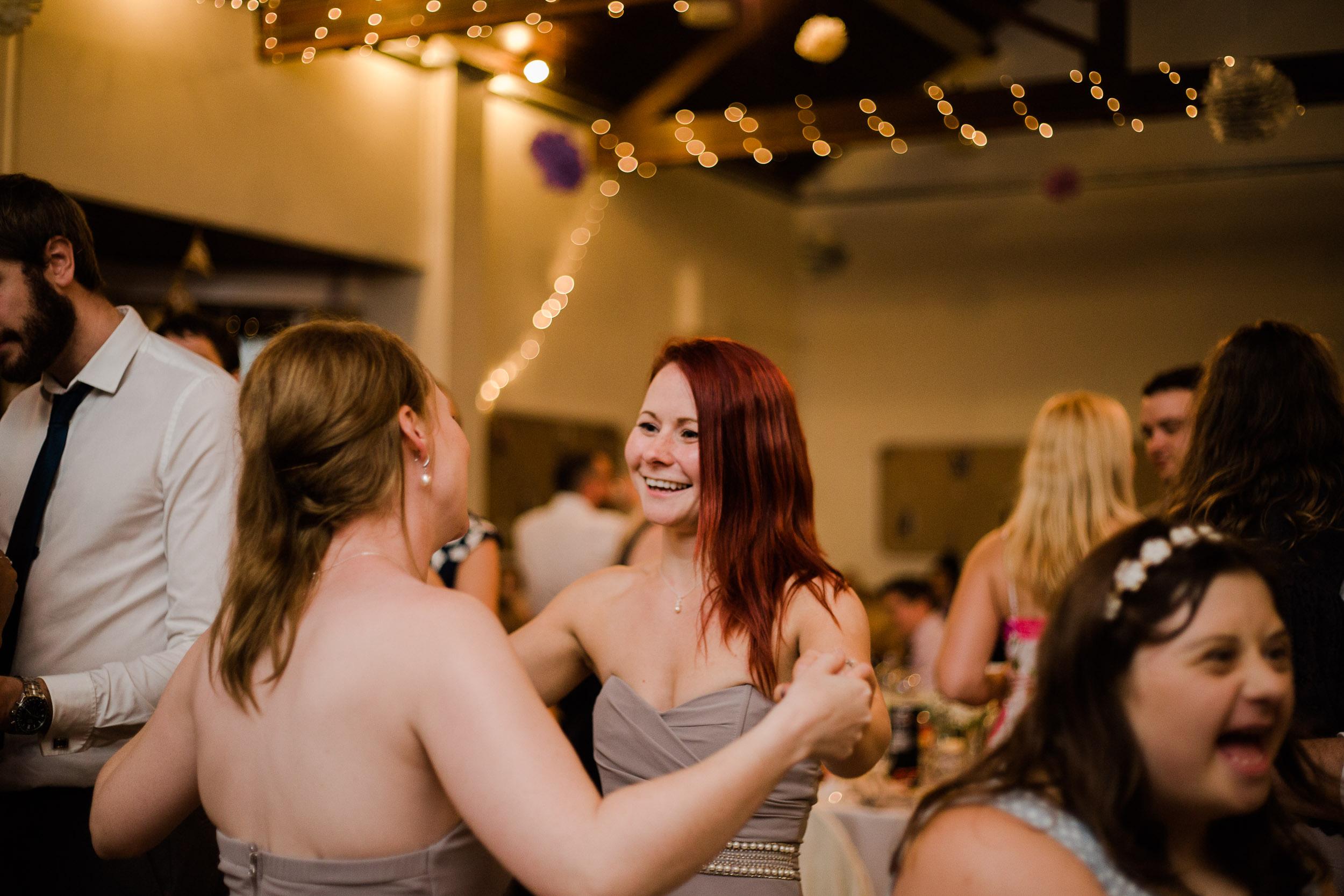 Fun Country Wedding Claverdon Village Hall -140