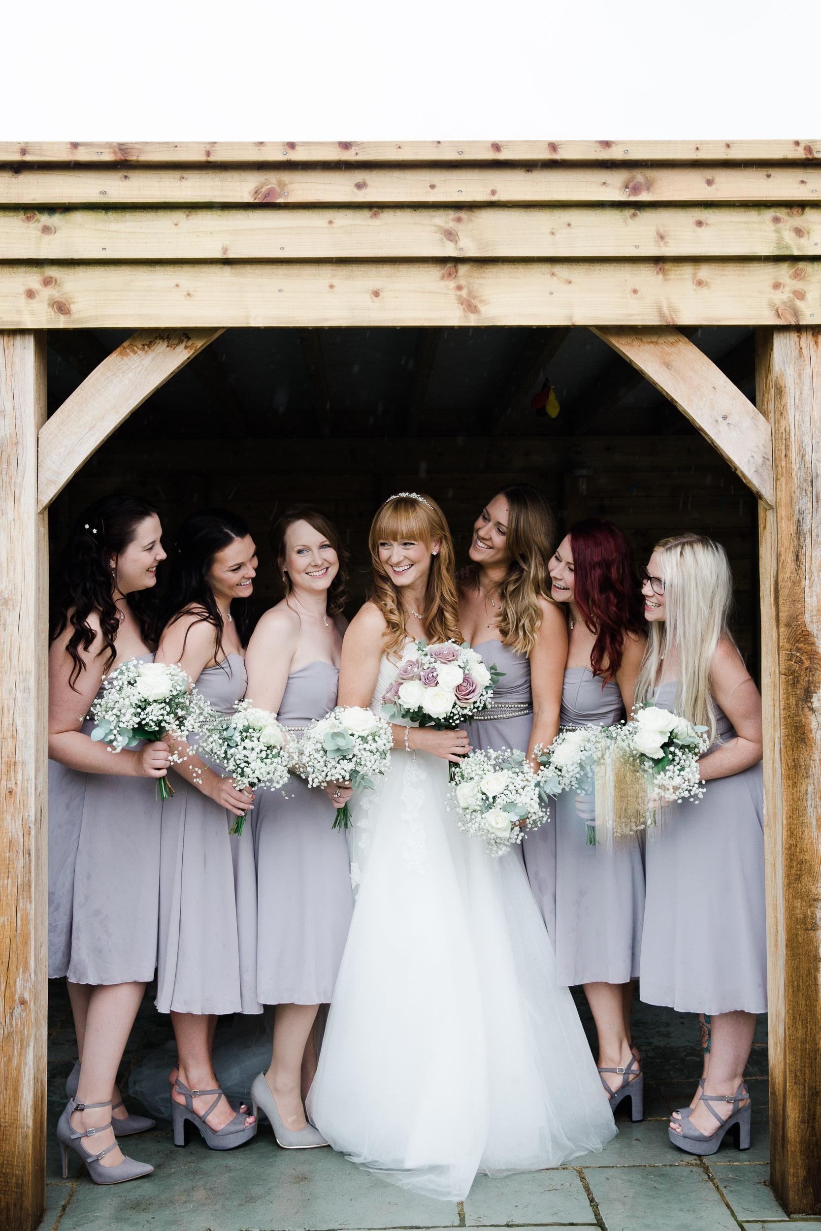 Fun Country Wedding Claverdon Village Hall -24