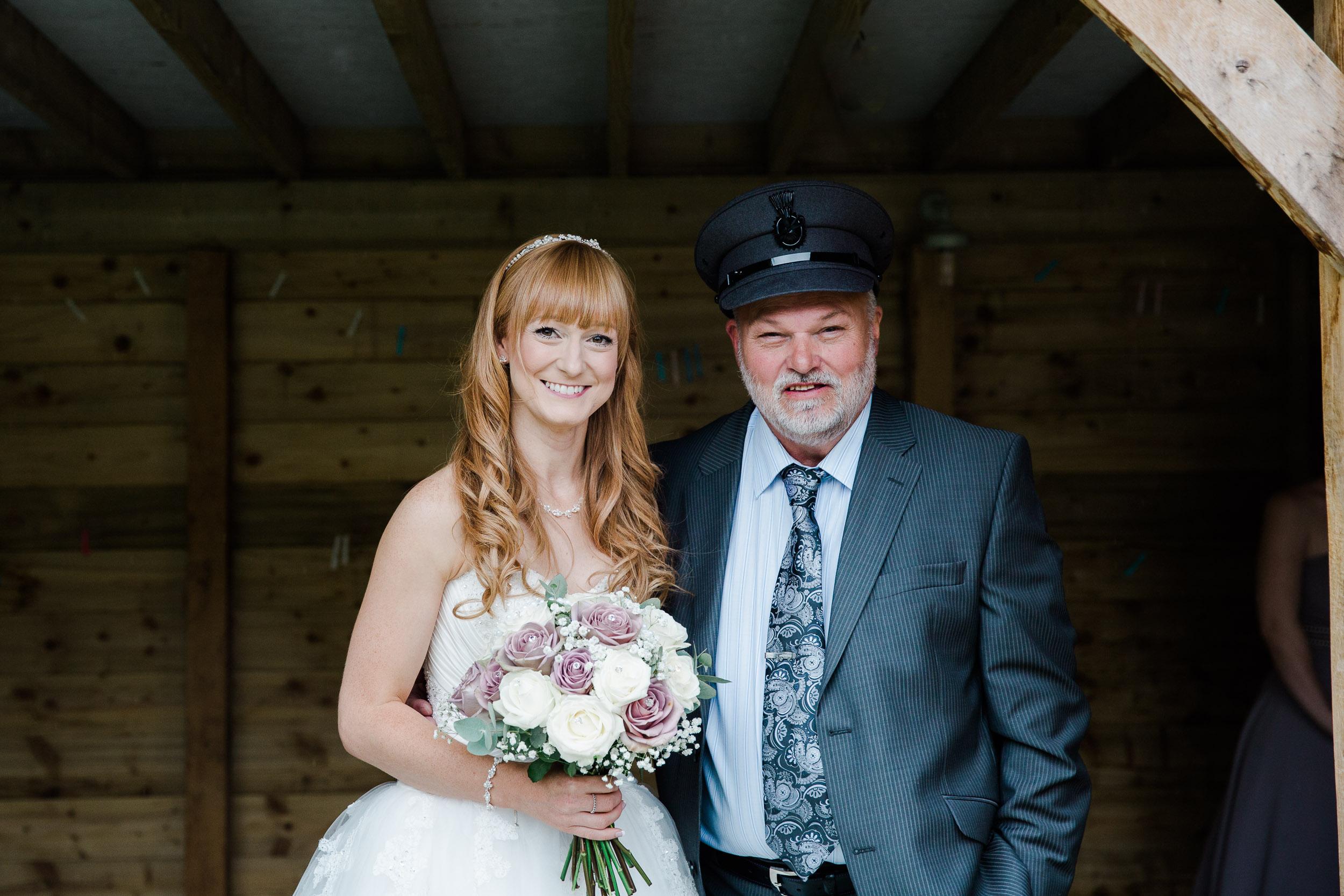 Fun Country Wedding Claverdon Village Hall -30