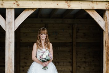 Fun Country Wedding Claverdon Village Hall -31